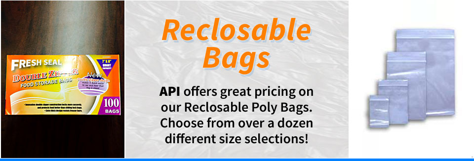 Reclosable Poly Bags